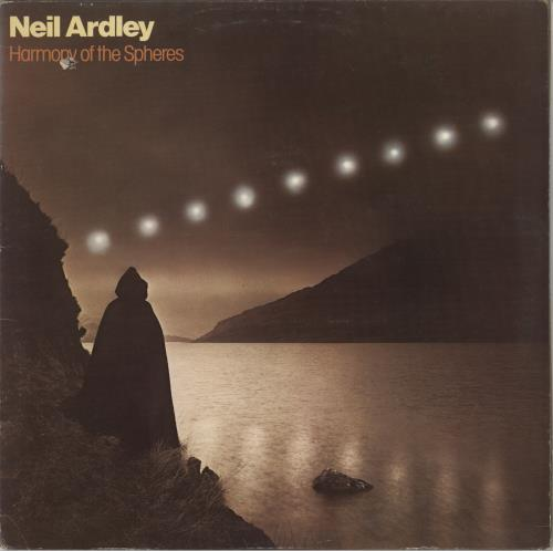 Neil Ardley Harmony Of The Spheres - EX vinyl LP album (LP record) UK N/ALPHA729512
