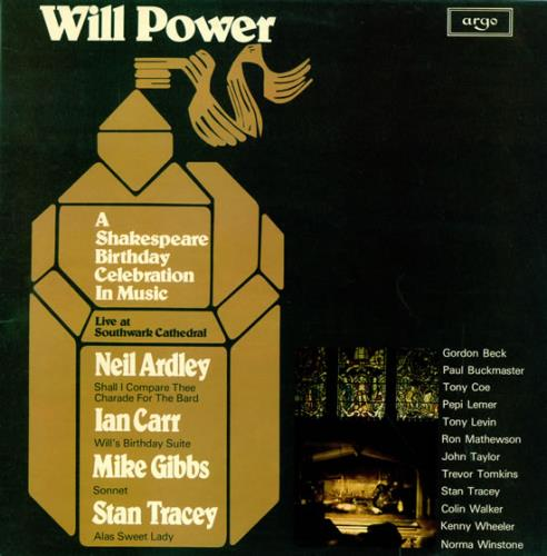 Neil Ardley Will Power - A Shakespeare Birthday Celebration In Music 2-LP vinyl record set (Double Album) UK N/A2LWI468138