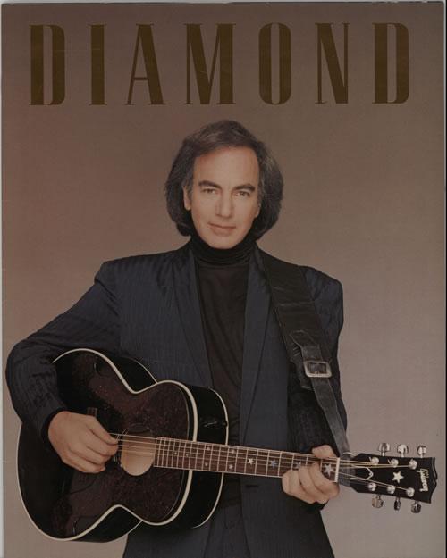 Neil Diamond 1988/89 Tour Programme + ticket stub tour programme UK NDITRTO91327