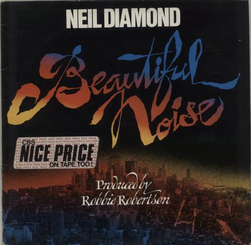 Neil Diamond Beautiful Noise vinyl LP album (LP record) UK NDILPBE685783