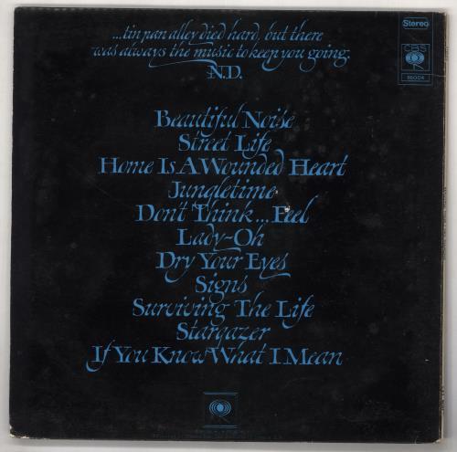 Neil Diamond Beautiful Noise vinyl LP album (LP record) Greek NDILPBE737086