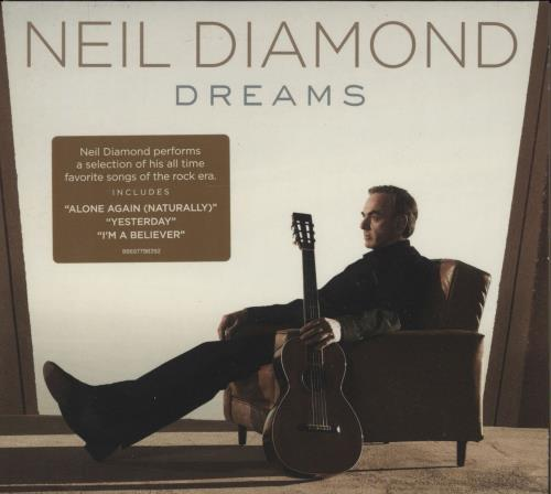 Neil Diamond Dreams CD album (CDLP) UK NDICDDR751559