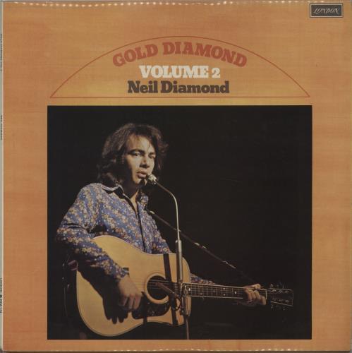 Neil Diamond Gold Diamond Volume 2 vinyl LP album (LP record) UK NDILPGO662808
