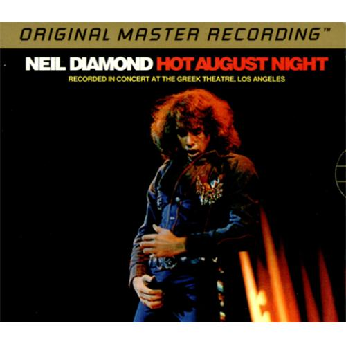 Neil Diamond Hot August Night Gold Cd Us 2 Cd Album Set