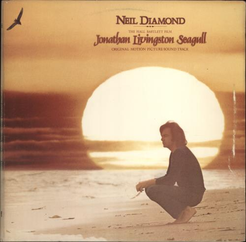 Neil Diamond Jonathan Livingston Seagull vinyl LP album (LP record) UK NDILPJO297487