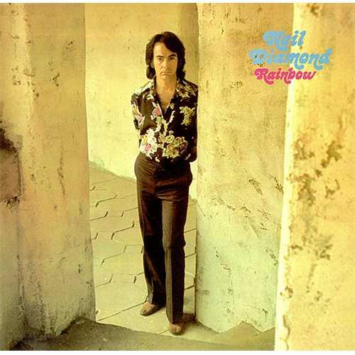 Neil Diamond Rainbow vinyl LP album (LP record) UK NDILPRA411618