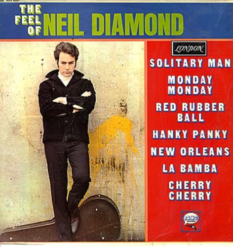 Neil Diamond The Feel Of Neil Diamond vinyl LP album (LP record) UK NDILPTH299478