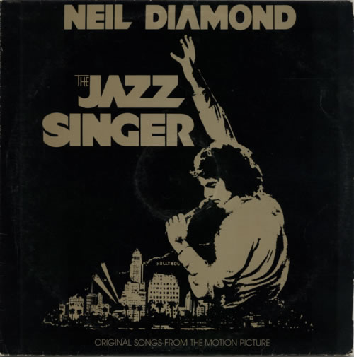 Neil Diamond The Jazz Singer vinyl LP album (LP record) Barbados NDILPTH601203