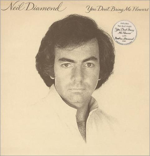 Neil Diamond You Don't Bring Me Flowers vinyl LP album (LP record) UK NDILPYO412207