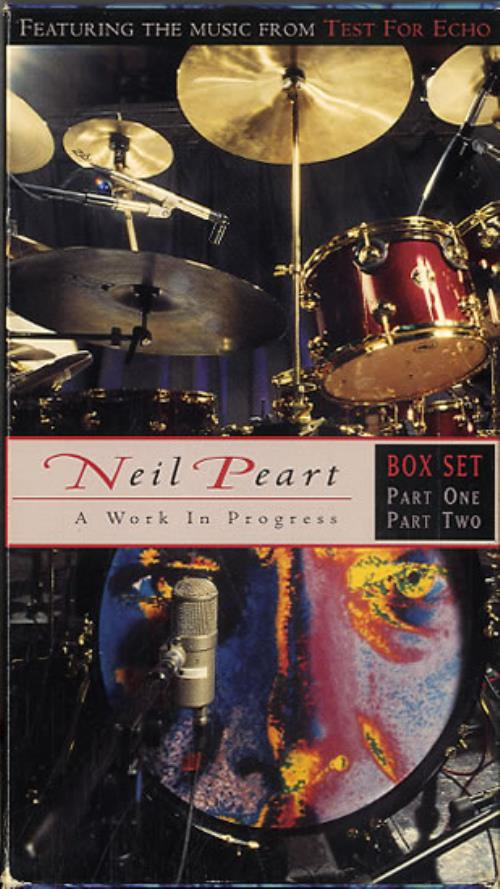 Neil Peart A Work In Progress Parts 1 & 2 video (VHS or PAL or NTSC) US NWOVIAW589421