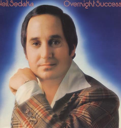 Neil Sedaka Overnight Success vinyl LP album (LP record) UK NSKLPOV362120