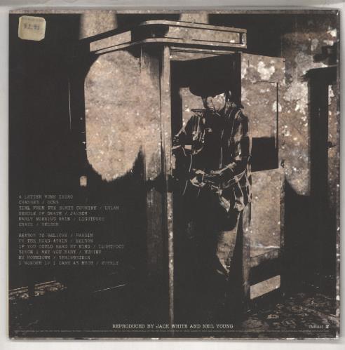 Neil Young A Letter Home - 180gm Vinyl vinyl LP album (LP record) US YOULPAL735420