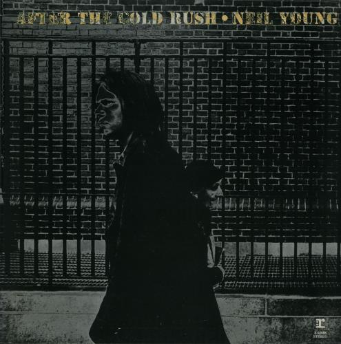 Neil Young After The Gold Rush - 2nd + Poster - EX vinyl LP album (LP record) UK YOULPAF644497