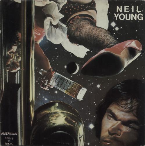 Neil Young American Stars 'N Bars vinyl LP album (LP record) Australian YOULPAM670846