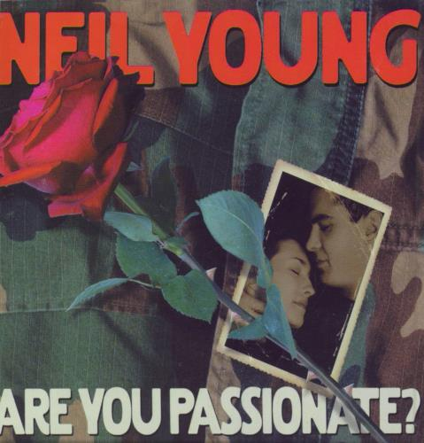 Neil Young Are You Passionate? CD-R acetate UK YOUCRAR209674