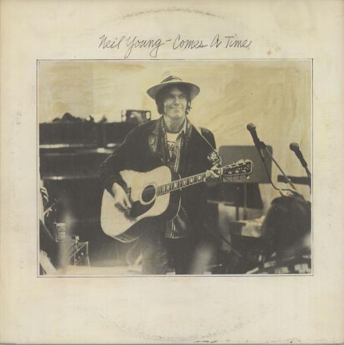 Neil Young Comes A Time vinyl LP album (LP record) Australian YOULPCO460612