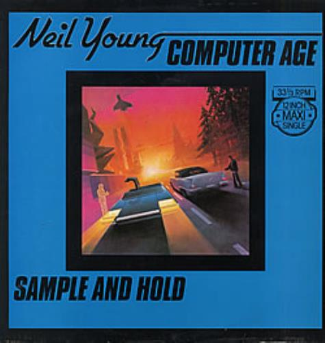 "Neil Young Computer Age 12"" vinyl single (12 inch record / Maxi-single) Dutch YOU12CO229454"