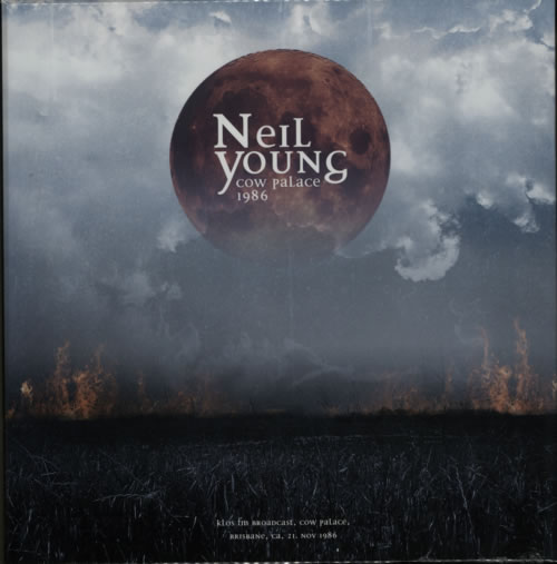 Neil Young Cow Palace 1986 Vinyl Box Set UK YOUVXCO619020