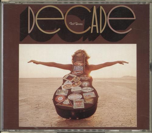 Neil Young Decade 2 CD album set (Double CD) Japanese YOU2CDE715656