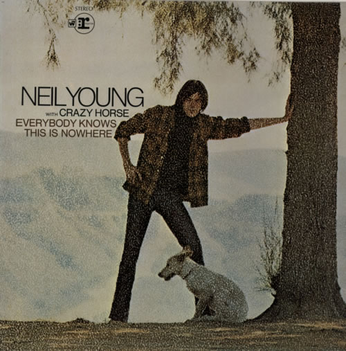 Neil Young Everybody Knows This Is Nowhere - 2nd vinyl LP album (LP record) UK YOULPEV146226
