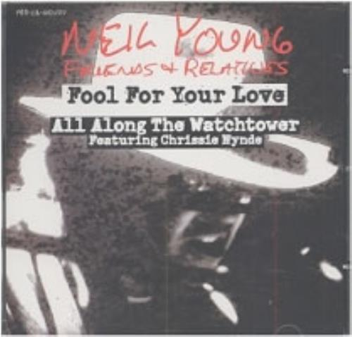 "Neil Young Fool For Your Love CD single (CD5 / 5"") US YOUC5FO173977"
