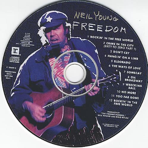 Neil Young Freedom - Picture CD CD album (CDLP) US YOUCDFR99497