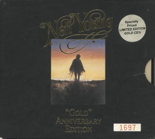 Neil Young Gold Anniversary Edition - EX 2 CD album set (Double CD) Australian YOU2CGO723636