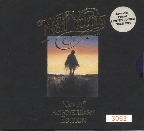 Neil Young Gold Anniversary Edition - Stickered 2 CD album set (Double CD) Australian YOU2CGO727688
