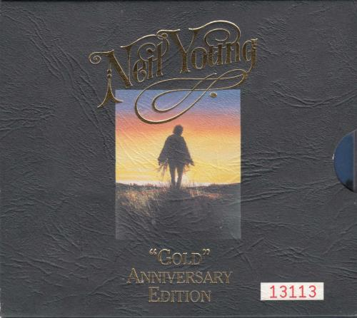 Neil Young Gold Anniversary Edition 2 CD album set (Double CD) Australian YOU2CGO31393