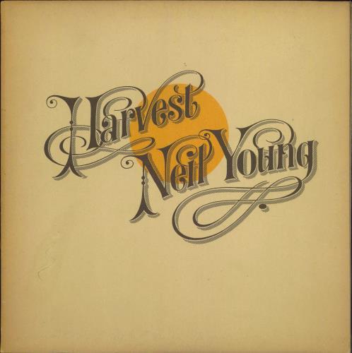 Neil Young Harvest - 1st - Complete - EX vinyl LP album (LP record) UK YOULPHA129370