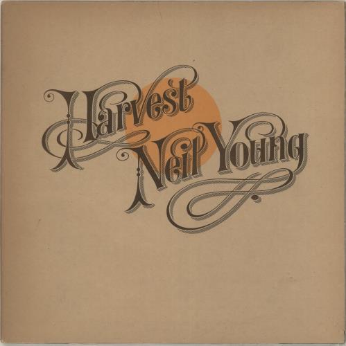 Neil Young Harvest - Mid 70s vinyl LP album (LP record) UK YOULPHA583645