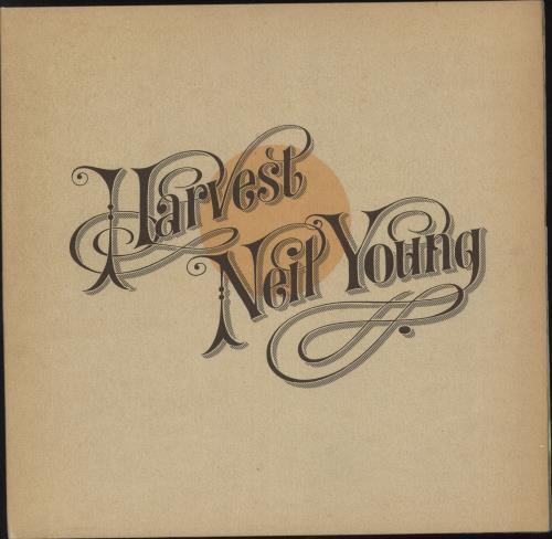 Neil Young Harvest vinyl LP album (LP record) German YOULPHA312764