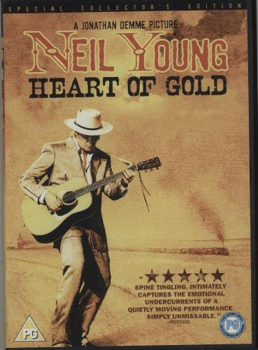 Neil Young Heart Of Gold DVD UK YOUDDHE681620