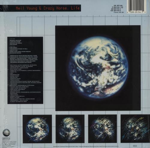 Neil Young Life vinyl LP album (LP record) UK YOULPLI136466
