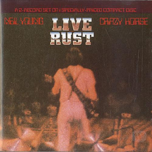 Neil Young Live Rust CD album (CDLP) US YOUCDLI621517