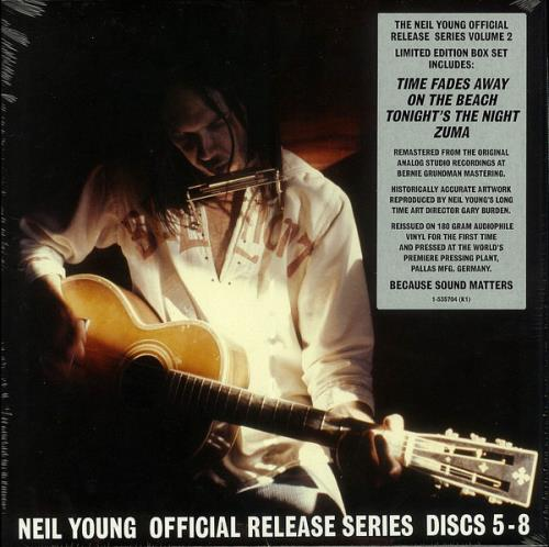 Neil Young Official Release Series Discs 5-8 - Sealed Vinyl Box Set US YOUVXOF752382