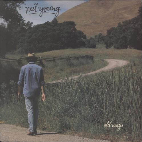 Neil Young Old Ways - Gold Promo Stamped vinyl LP album (LP record) UK YOULPOL742630