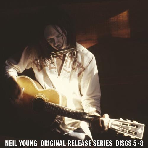 Neil Young Original Release Series Discs 5-8 CD Album Box Set UK YOUDXOR748454