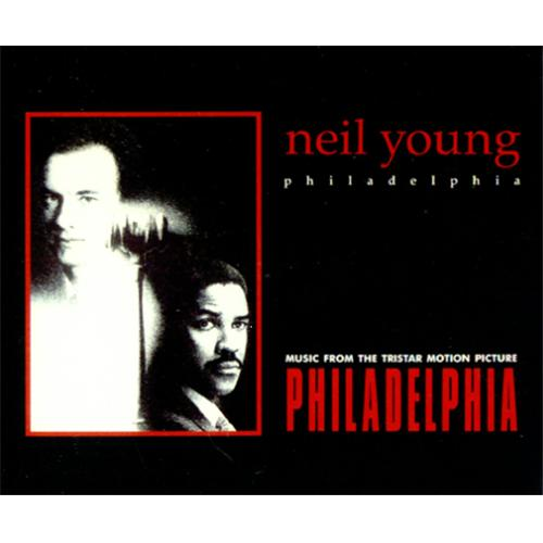 Neil Young Philadelphia Uk Cd Single Cd5 5 Quot 64484