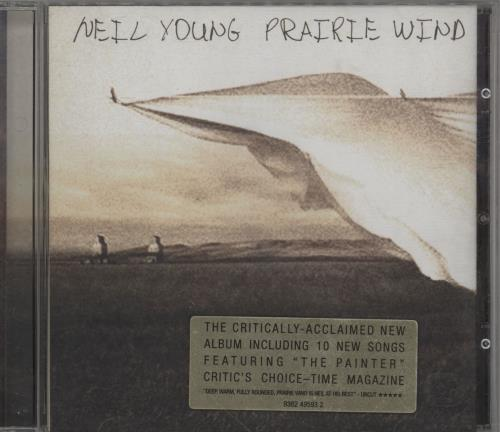 Neil Young Prairie Wind CD album (CDLP) UK YOUCDPR336649