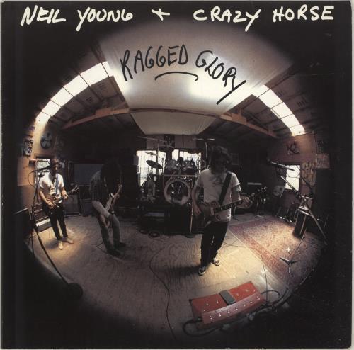 Neil Young Ragged Glory - EX vinyl LP album (LP record) UK YOULPRA169555