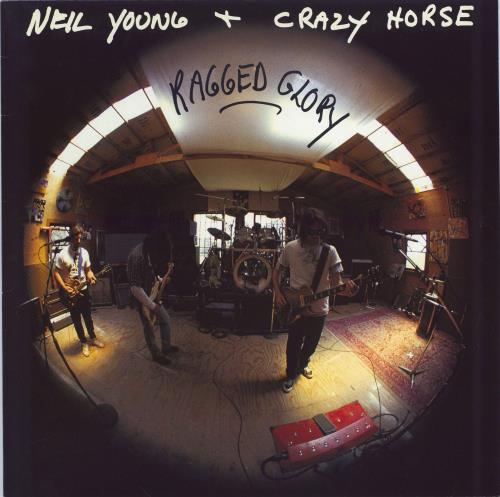 Neil Young Ragged Glory vinyl LP album (LP record) UK YOULPRA159441