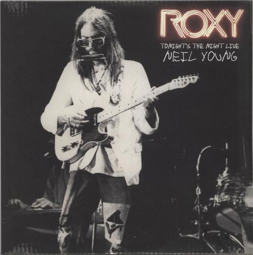 Neil Young Roxy (Tonight's The Night Live) - Sealed 2-LP vinyl record set (Double Album) US YOU2LRO715751