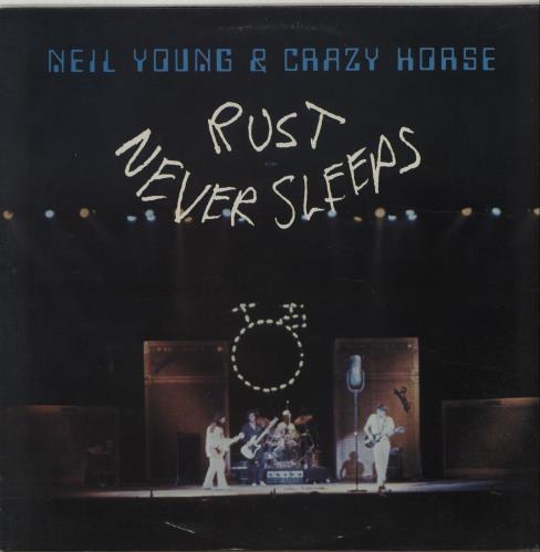 Neil Young Rust Never Sleeps - EX vinyl LP album (LP record) UK YOULPRU383250