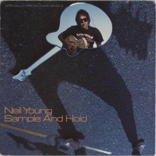 """Neil Young Sample And Hold 12"""" vinyl single (12 inch record / Maxi-single) Canadian YOU12SA95232"""