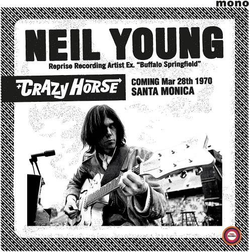 Neil Young Santa Monica Civic 1970 - Sealed vinyl LP album (LP record) UK YOULPSA763721