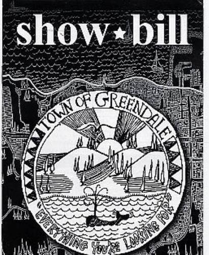Neil Young Show Bill - Town Of Greendale tour pass US YOUTPSH259225