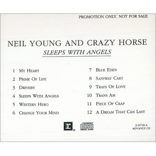 Neil Young Sleeps With Angels