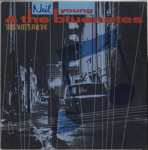Neil Young This Note's For You vinyl LP album (LP record) Australian YOULPTH734242