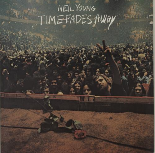 Neil Young Time Fades Away - Glossy Picture Sleeve vinyl LP album (LP record) UK YOULPTI685321